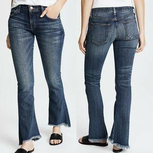 Current/Elliott Flip Flop Loved Frayed Jeans